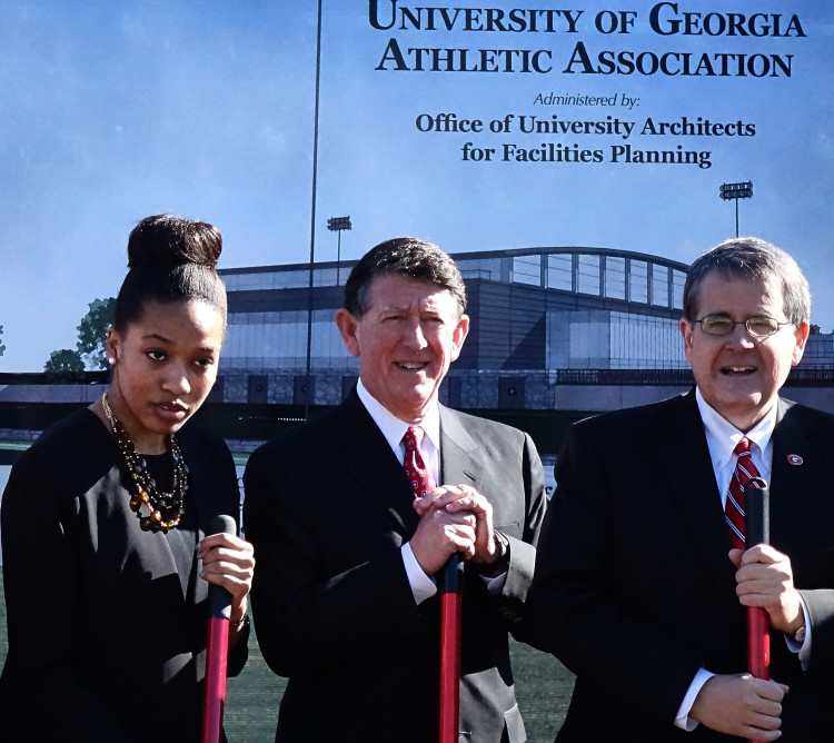 Indoor Athletic Facility Groundbreaking Ceremony