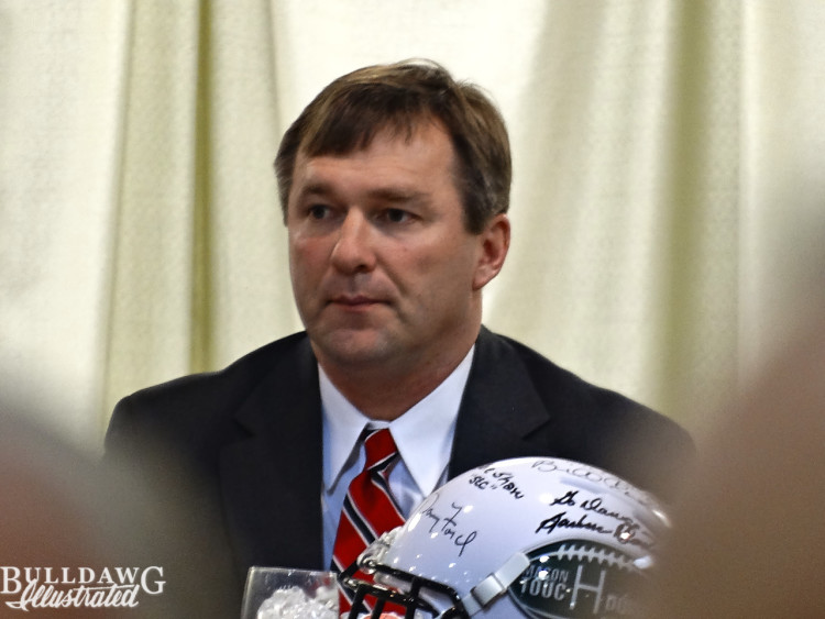 Kirby Smart at Macon Touchdown Club meeting