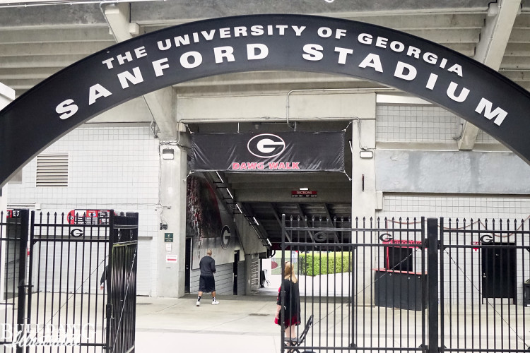 Sanford Stadium Gate 10
