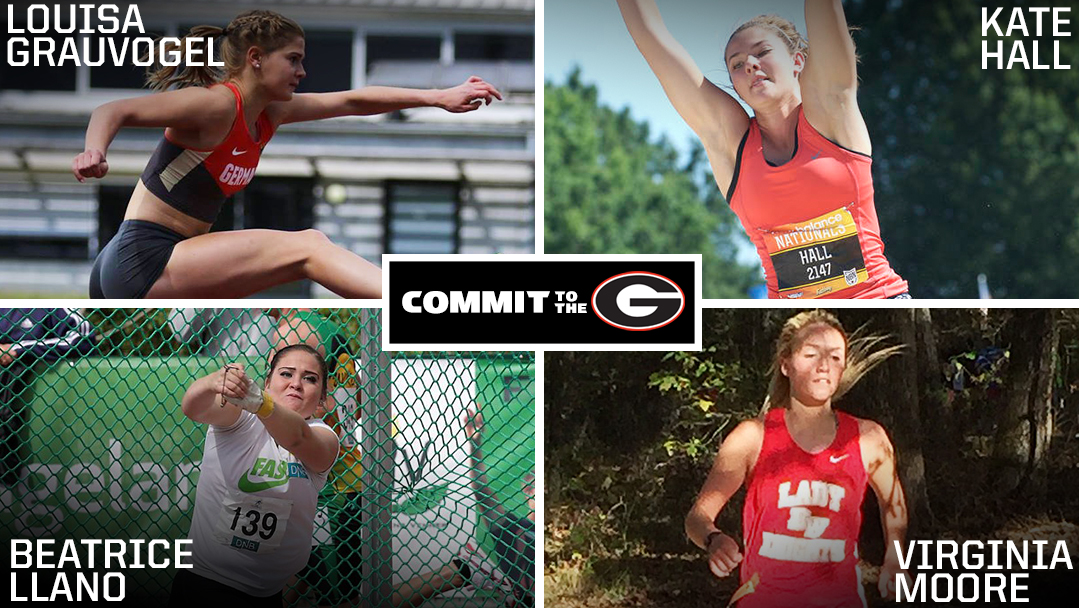 2016 UGA Women's Track and Field Signees (Photo per Georgia Sports Communications)