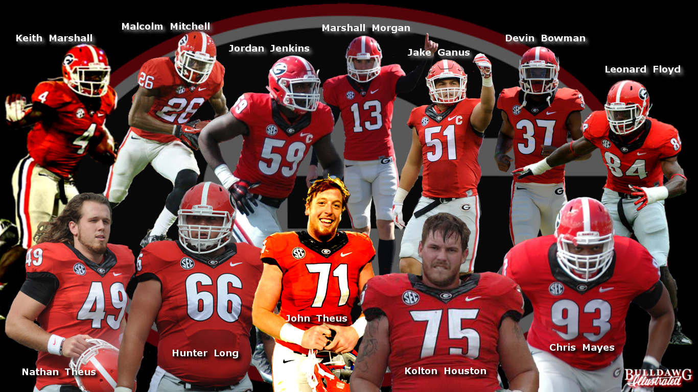 Georgia Bulldogs in the 2016 NFL Draft (edit by Bob Miller)