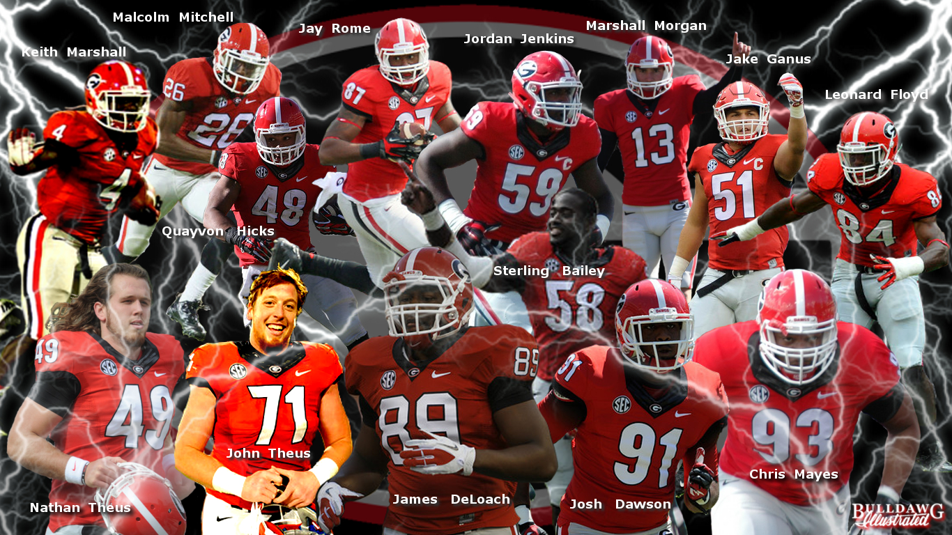 Georgia Bulldogs going to the NFL 2016 edit by Bob Miller
