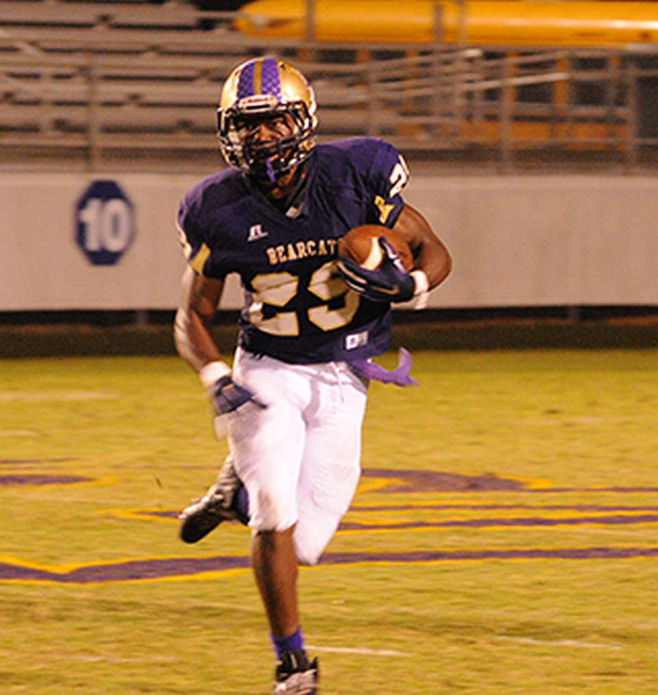 Dameon Pierce - Class of 2018 - RB - (Bainbridge High School, GA) (photo Dameon Pierce - Twitter)