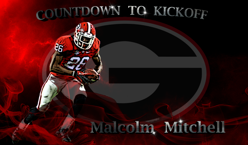 Malcolm Mitchell, UGA WR 2011-2015 (edit by Bob Miller)