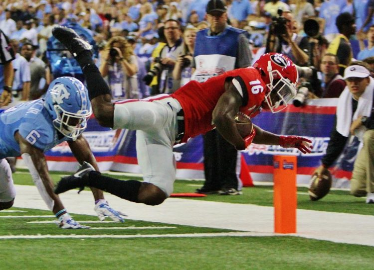 Isaiah McKenzie gets into the end zone