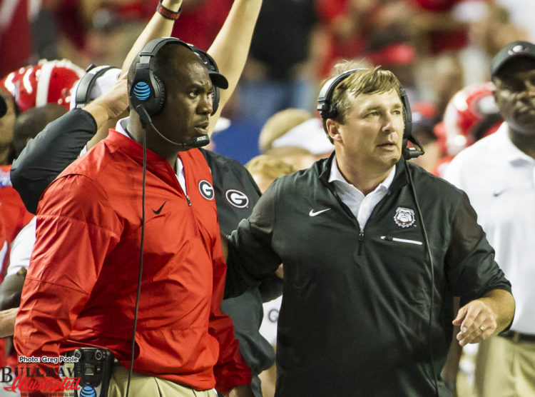 Mel Tucker and Kirby SmartMel Tucker and Kirby Smart