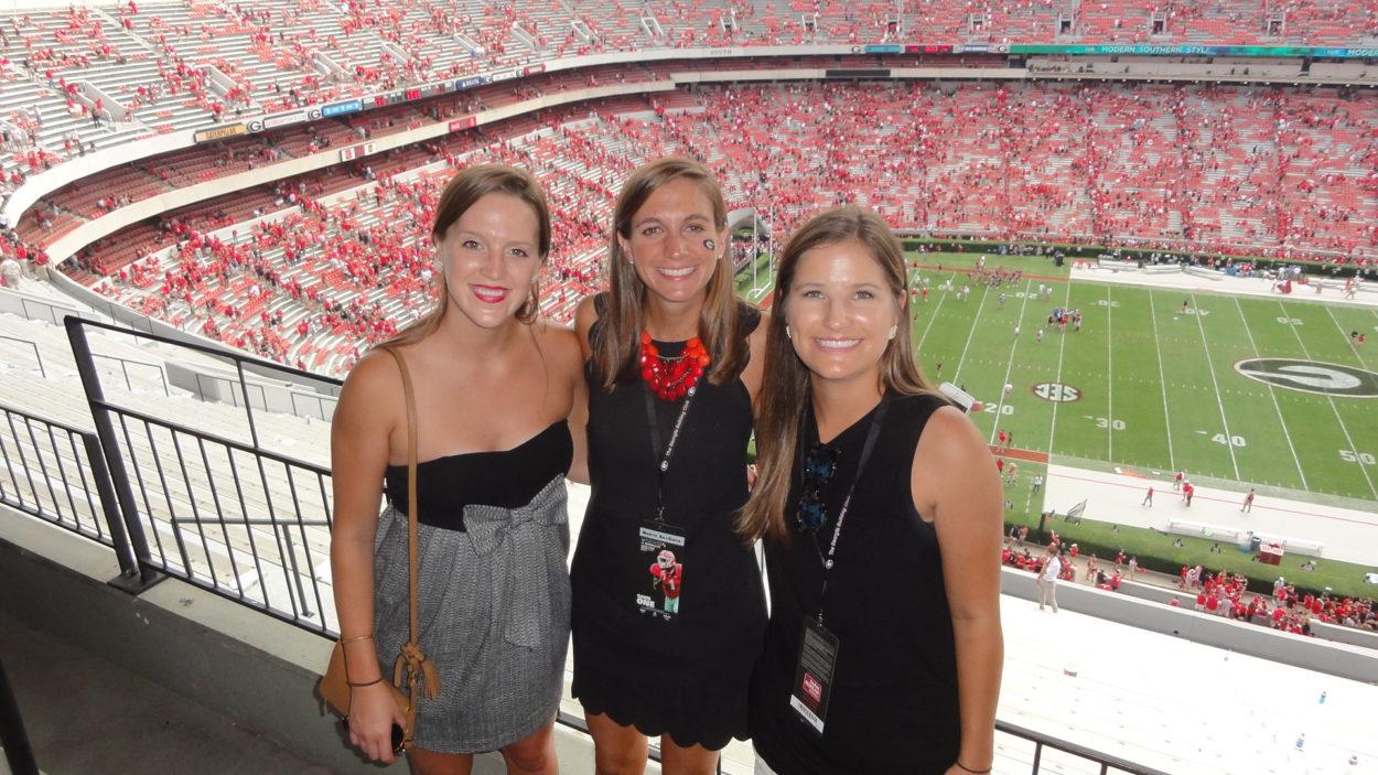 Sarah Carr, Meredith Hightower and Ali Hymson