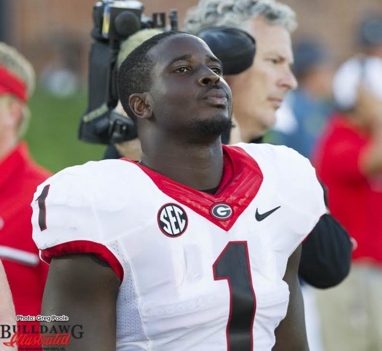 Sony Michel is Used To Playing in Bad Weather   Bulldawg ...