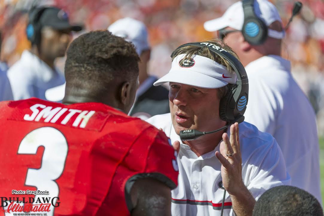 Kirby Smart coaching up Roquan Smith