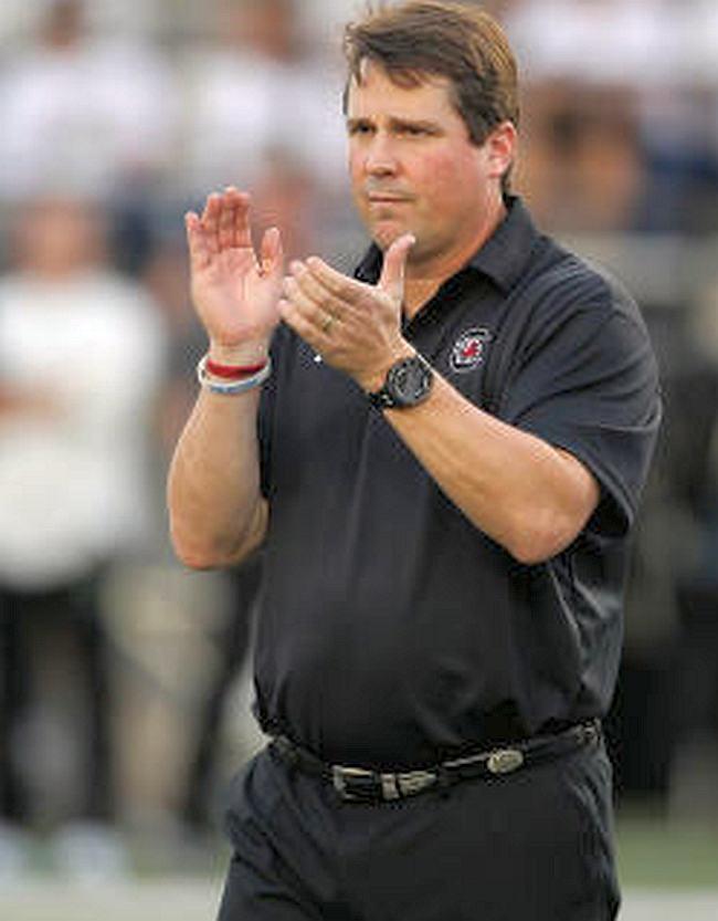 Will Muschamp (photo courtesy of South Carolina Athletics)