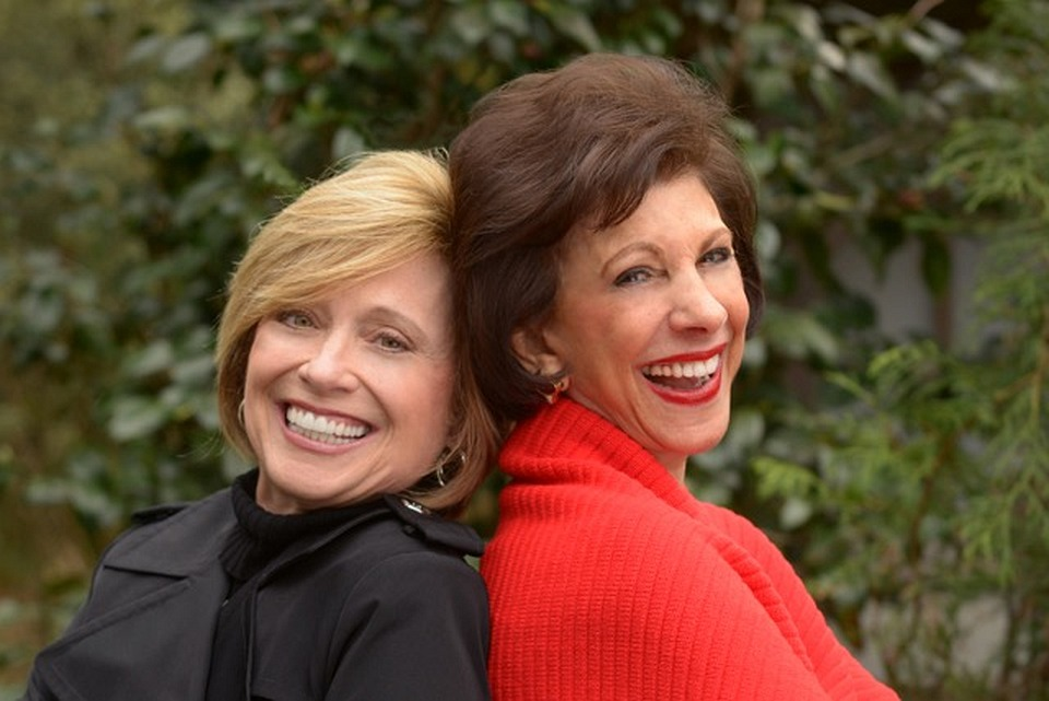 Debbie Crowe  (on left) and Barbara Dooley (on right)