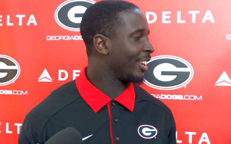 Sony Michel (photo by Bulldawg Illustrated's Michael Pope)