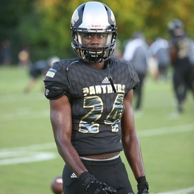 Tracy White - Class of 2017 CB - Liberty County High School (photo Tracy White  Twitter)