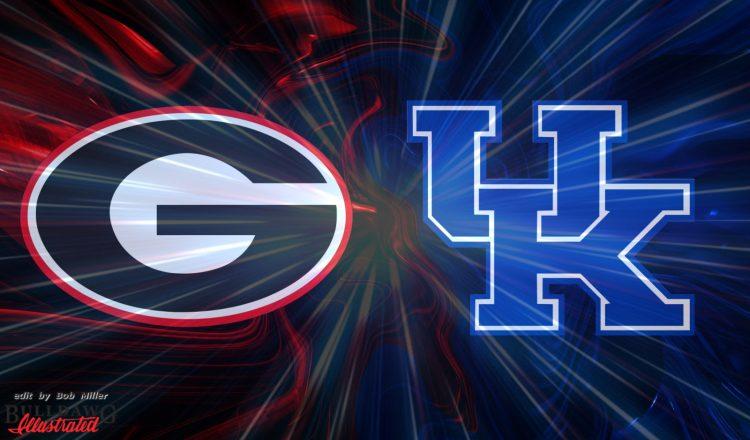 Georgia vs Kentucky edit by Bob Miller for Score Predictions