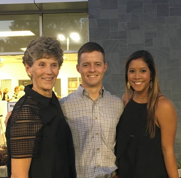 Joan Assey, Guy Scott, and Thananya Hughes