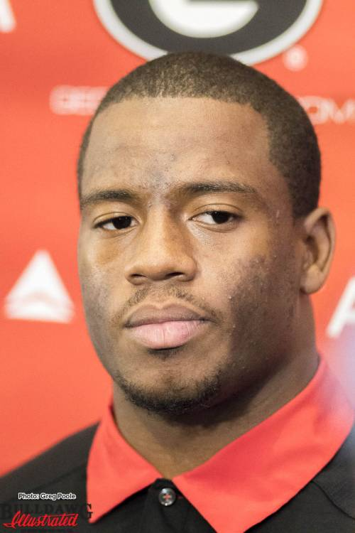 Nick Chubb meets the press – November 16, 2016