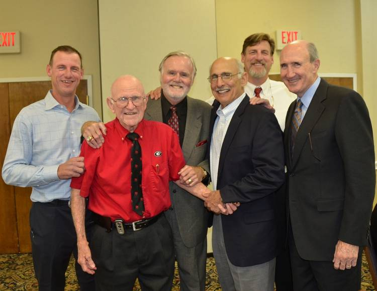 Stan Stanfill, Jack Clay, Doug Crusan, Manny Fernandez, Jake Stanfill and Mike Kolen