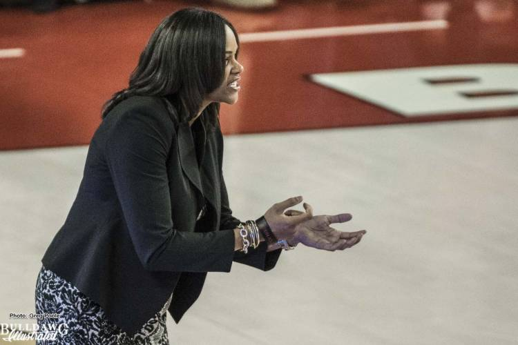 Joni Taylor, Head Coach of the University of Georgia women's basketball team