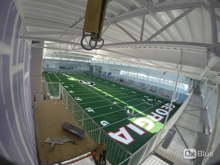 UGA indoor athletic facility - December 1, 2016