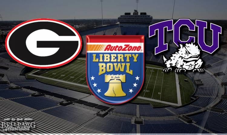 From the Press Box - Georgia vs TCU Autozone Liberty Bowl edit by Bob Miller