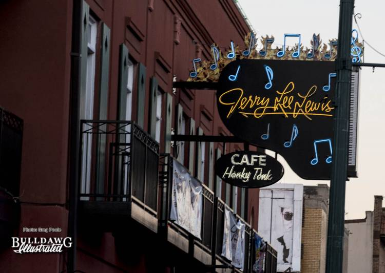 Jerry Lee Lewis Cafe on Beale Street.