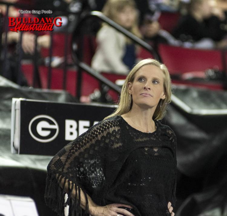 Danna Durante - Head Coach of the Georgia Gymdogs