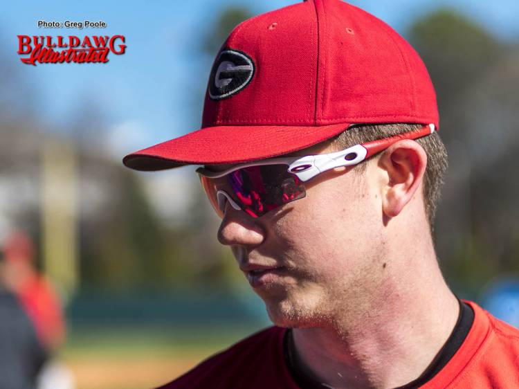 LJ Talley - UGA Baseball Team