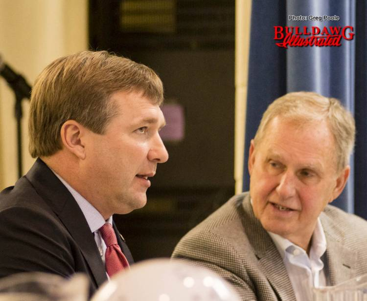 Kirby Smart and Mike Cavan - Macon Touchdown Club February 13, 2017