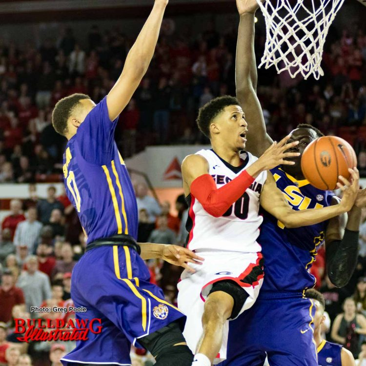 J.J. Frazier drives late in the 2nd half
