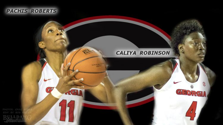 Pachis Roberts and Caliya Robinson edit by Bob Miller