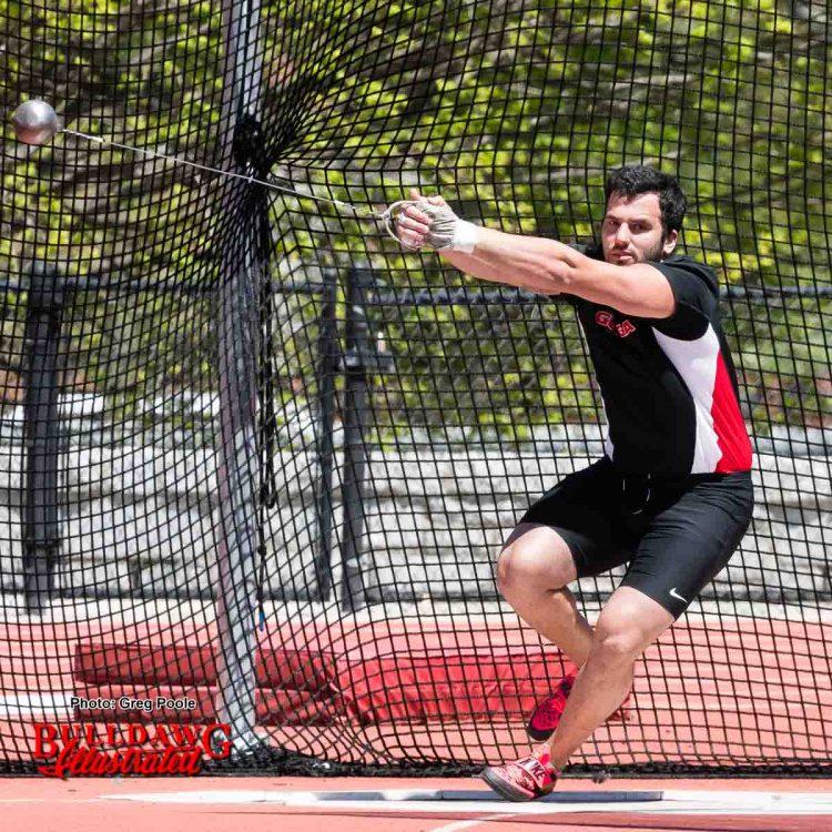 Alex Poursanidis - hammer thrower