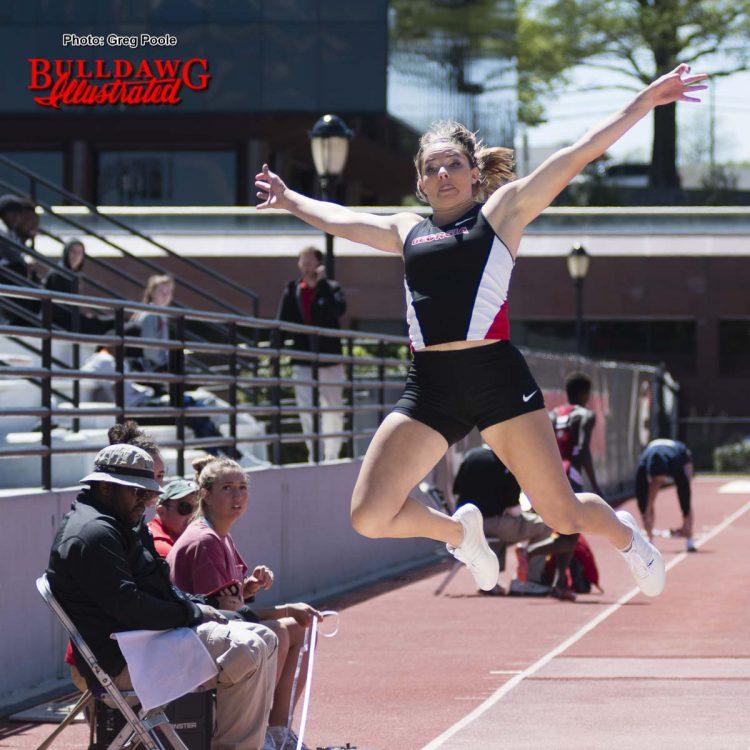 UGA long jumper Kate Hall (2)