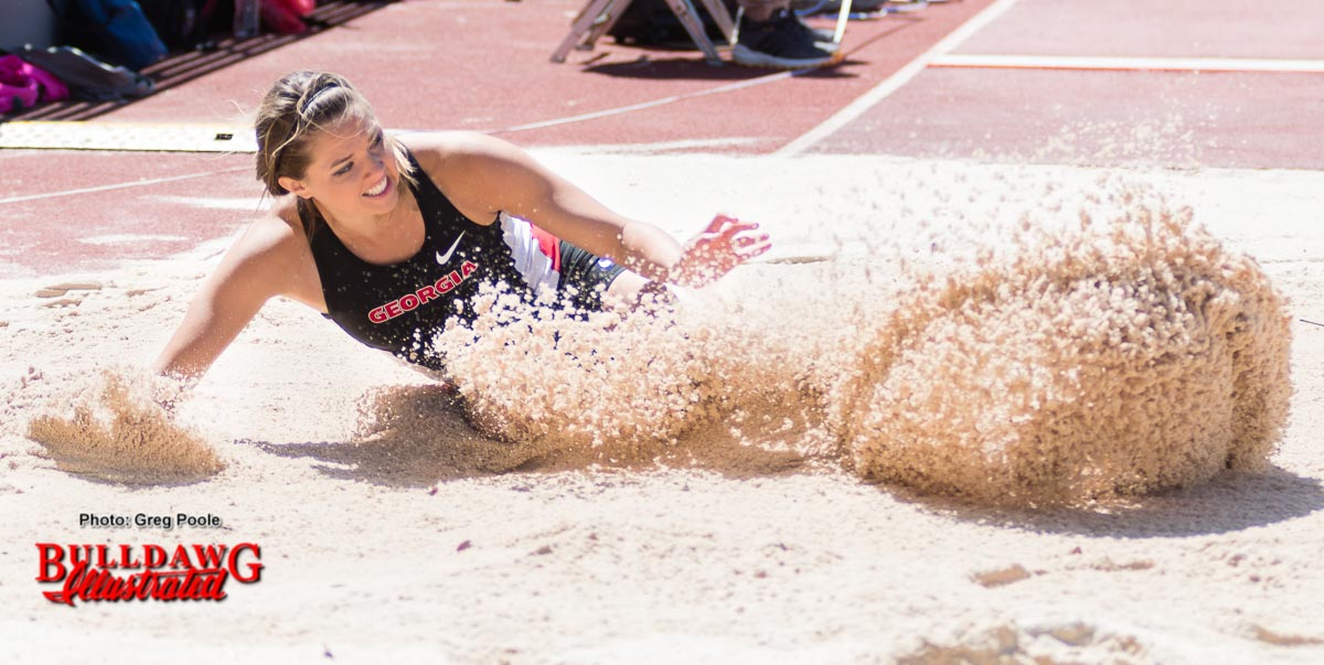 UGA long jumper Kate Hall (6)