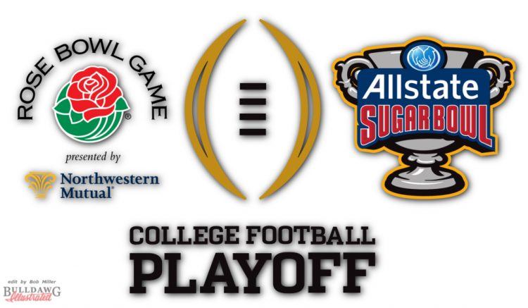 2017-2018 College Football Playoff graphic edit by Bob Miller