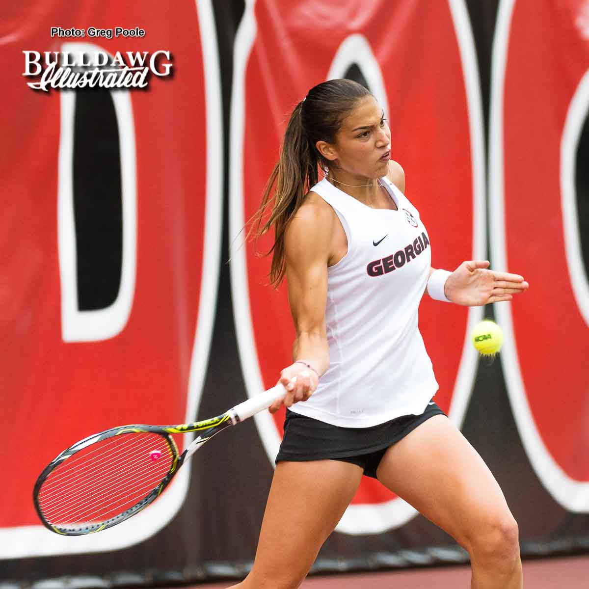 Elena Christofi  - UGA Women's Tennis Team -