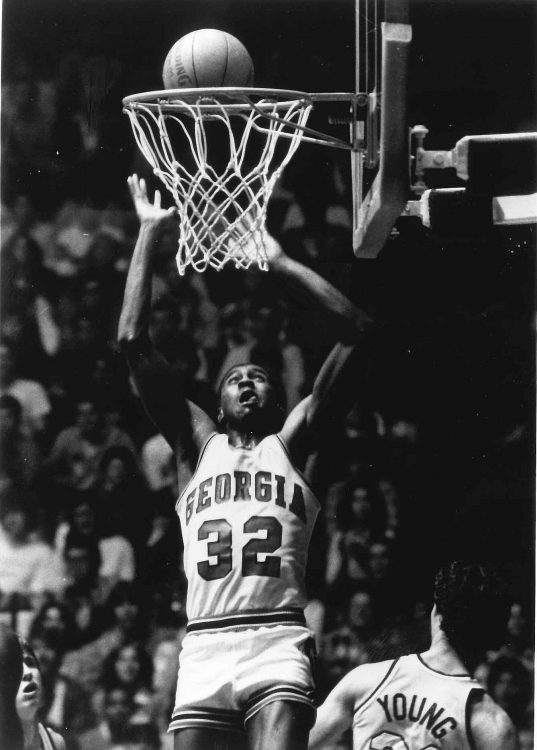 Lamar Heard (Photo from Georgia Sports Communication)