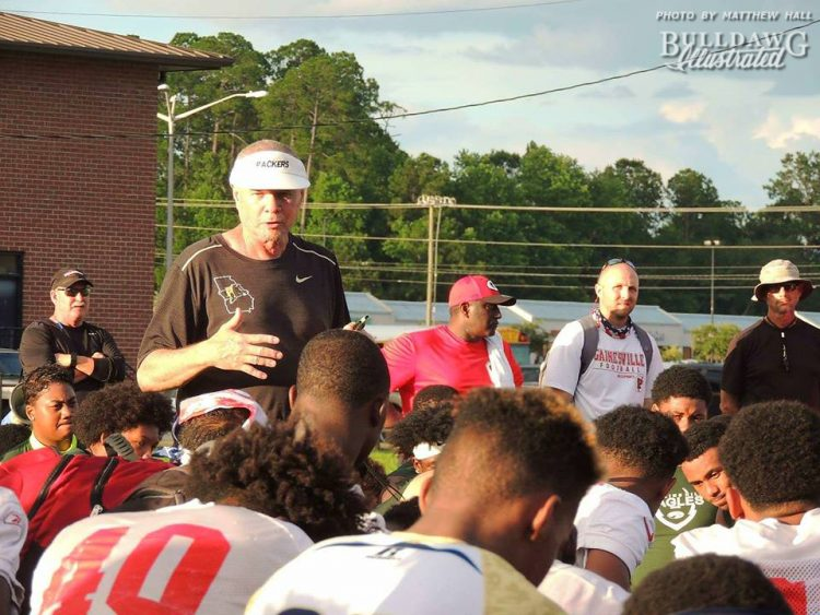 Head Coach Rush Propst - Colquitt County High School Football - OTAs - July 2017 (Photo: Matthew Hall)