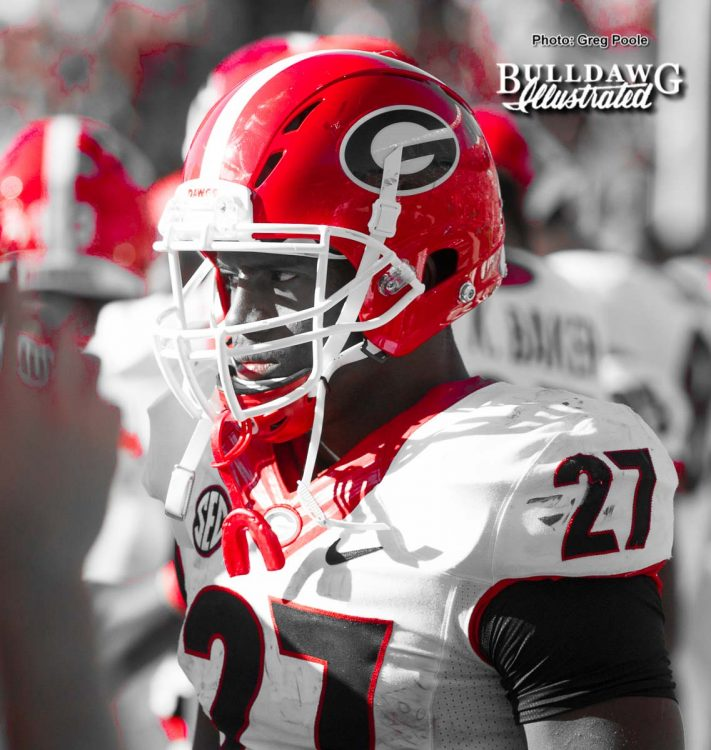 Nick Chubb – Georgia vs. South Carolina 2016