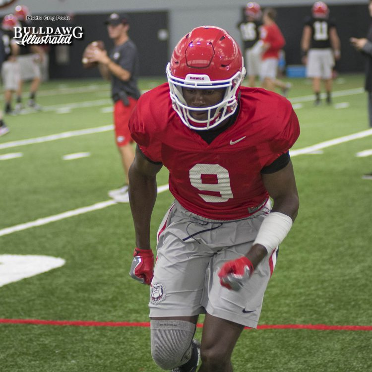 Jeremiah Holloman - Wednesday, August 9, 2017 – fall camp