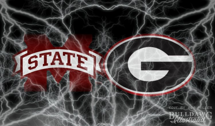 UGA vs. Mississippi State 2017 edit by Bob Miller / Bulldawg Illustrated