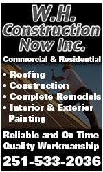 WH Construction Now, Inc.
