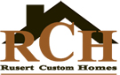 Website for Rusert Custom Homes, LLC