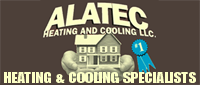 Website for Alatec Heating & Cooling, LLC