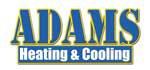 Website for Adams Heating & Cooling, Inc.