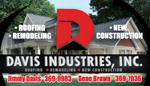Website for Davis Industries, Inc.