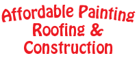 Website for Affordable Painting, Roofing & Construction