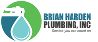 Website for Brian Harden Plumbing, Inc.