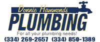 Website for Donnie Hammonds Plumbing, LLC