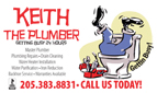 Website for Keith the Plumber