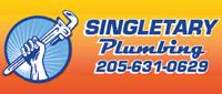 Website for Singletary Plumbing, Inc.